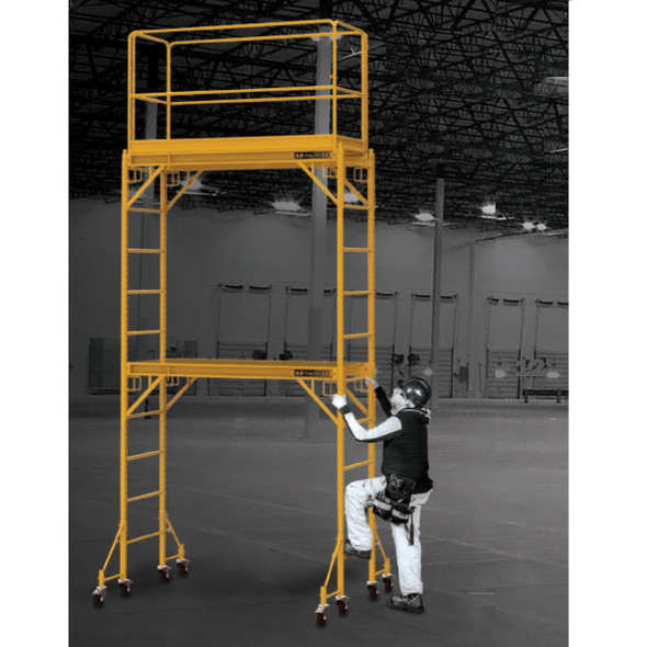 MetalTech I-TCISC 12' High Baker Style Scaffold Tower