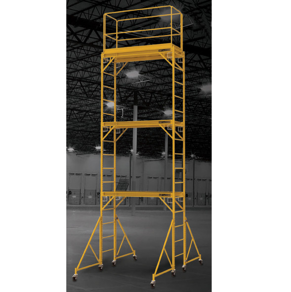 MetalTech I-T3CISC 18' High Baker Style Scaffold Tower