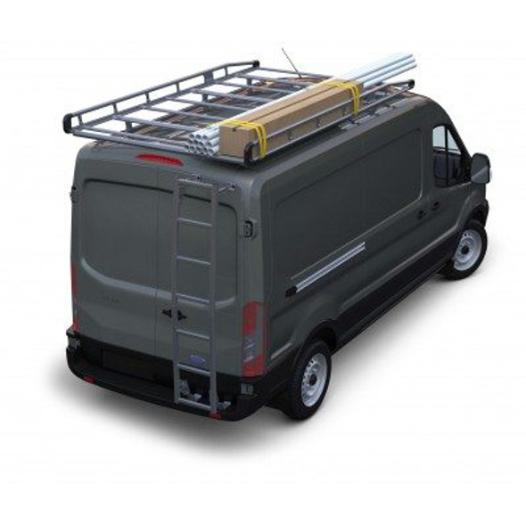 "Prime Design AR1910 Ladder Rack for Ford Transit | 130"" WB Mid-Roof"