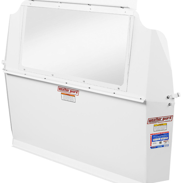 Weather Guard Model 96511-3-01 Window Bulkhead, Compact, Ford Transit Connect