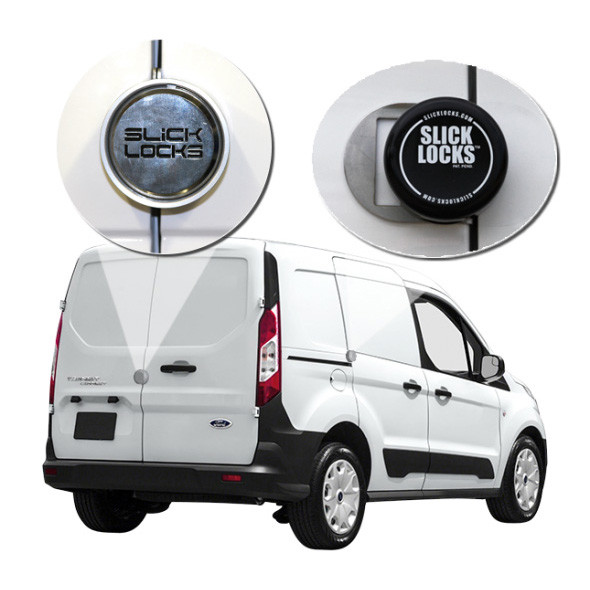 Slick Lock Model No. FD-TC-FVK-2-TK | Ford Transit Connect Complete Turn Key Kit - 2014-Present