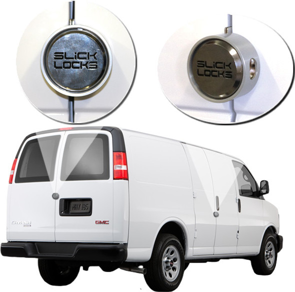 Slick Lock Model No. GM-FVK-1-TK | Chevy Express / GM Savana Complete Turn Key Kit - 1997-Present