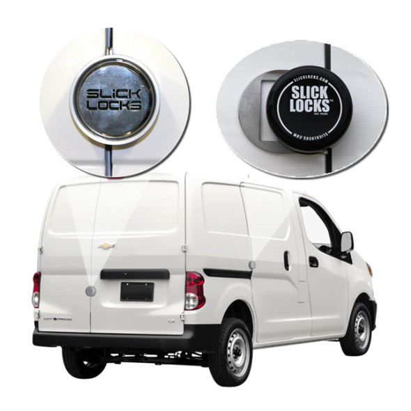 Slick Lock Model No. GM-CE-FVK-SLIDE-TK | Chevy City Express Complete Turn Key Kit - 2013-Present