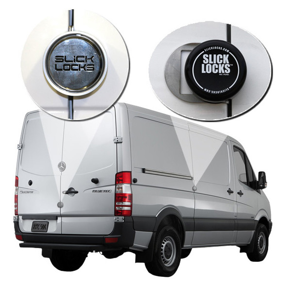 Slick Lock Model No. SP-FVK-SLIDE-TK | Mercedes Sprinter Complete Turn Key Kit - 2007-2018