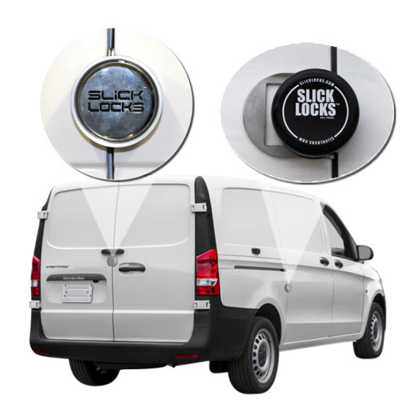 Slick Lock Model No. MET-FVK-DBL-SLIDE-TK | Mercedes Metris w/ Double Sliding Doors Complete Turn Key Kit - 2015-Present