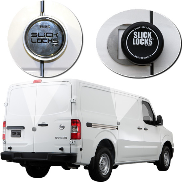 Slick Lock Model No. NV-FVK-SLIDE-TK | Nissan NV Complete Turn Key Kit - 2011-Present