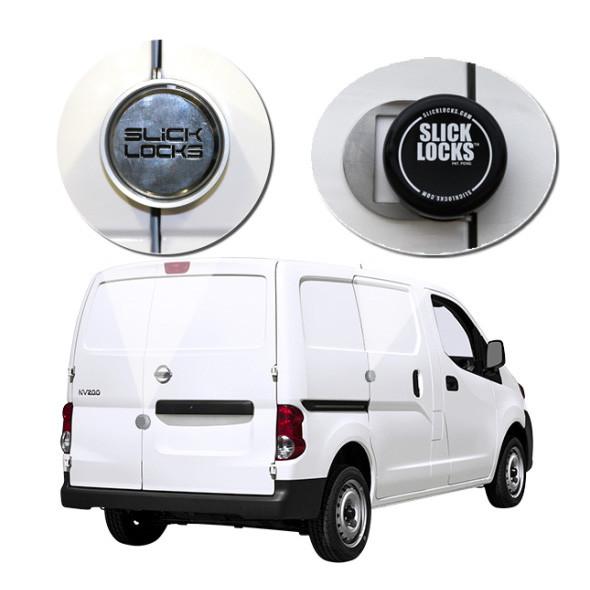 Slick Lock Model No. NV200-FVK-SLIDE-TK | Nissan NV200 Complete Turn Key Kit - 2013-Present