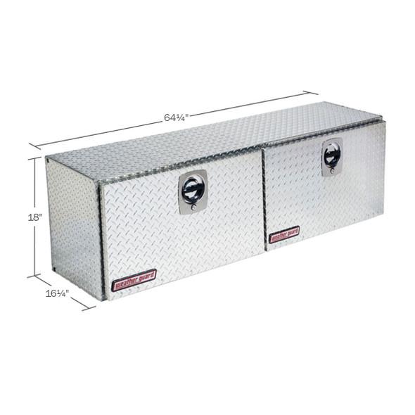 Weather Guard Model 365-X-02 Super Hi-Side Box, Aluminum, 10.8 cu ft