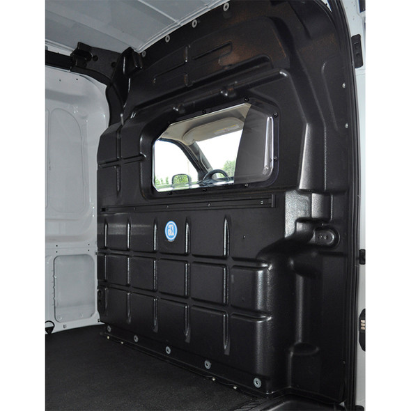 Adrian Steel Company #PARFTM 51774 Composite Partition w/Window | Ford Transit Mid Roof