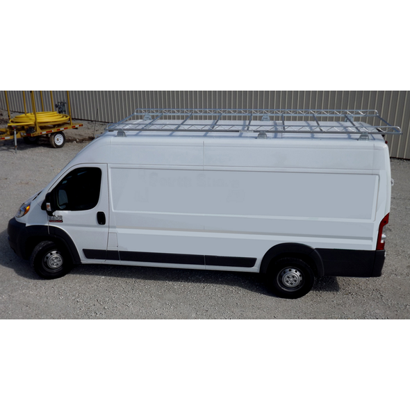 "Topper #460118 10' Knocked-Down Van Rack w/60"" Crossbars - ProMaster 118WB"