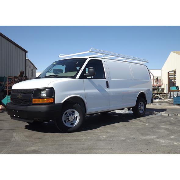 "Topper #256500 12' Standard Van Rack w/56"" Crossbars | '96 & Newer GMC/Chevy"