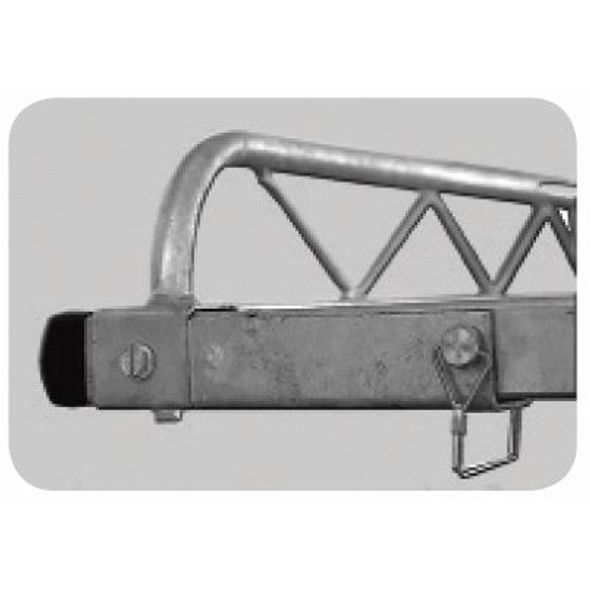 Topper #502009 Truck Rack Accessory | Removable Crossbar Pockets