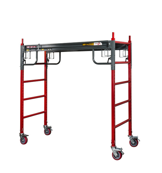MetalTech #I-BMSS 6' to 12' BUILDMAN Heavy Duty Scaffold | 1500 lb. Capacity