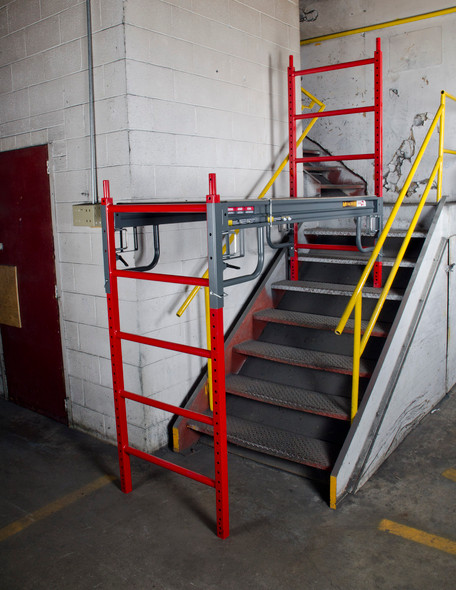 MetalTech #I-BMSS 6' to 12' BUILDMAN Heavy Duty Scaffold | 1500 lb. Capacity.  The do not have the door.