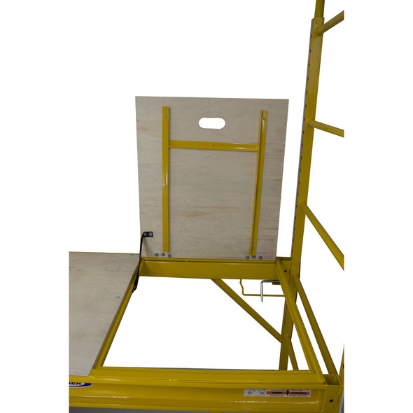 Werner SRS-72T 6 ft Steel Rolling Scaffold with Trap Door