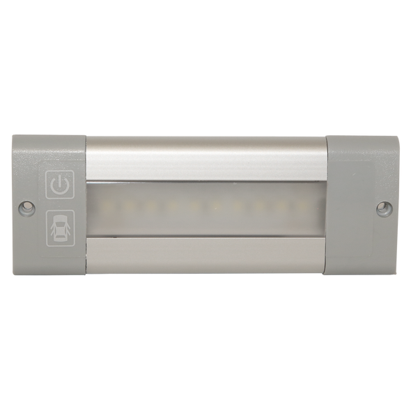 ECCO LED Interior Light: Rectangular, Switched with Door Control, 12-24V