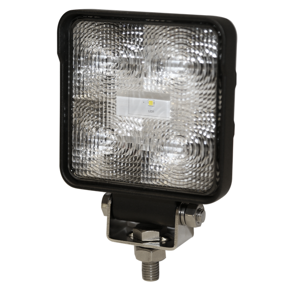 ECCO E9200X Worklamp: LED, Flood Beam, Square, 12-24VDC