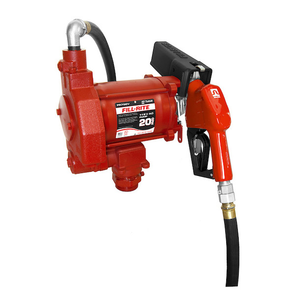 Fill-Rite FR700V 115 Volt AC Pump with Automatic Nozzle