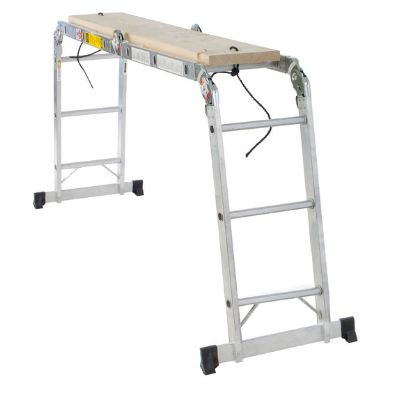 Werner M1A Series Aluminum Folding Ladder | Type IA