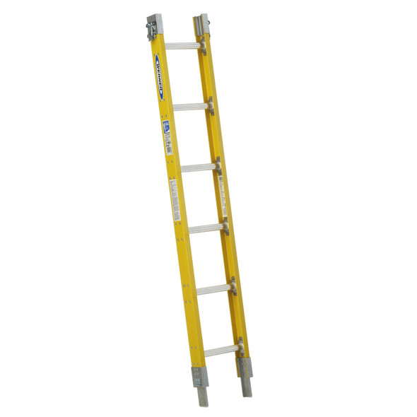 Werner S7706-1 is an interchangeable Fiberglass Parallel Sectional Ladder | Type I