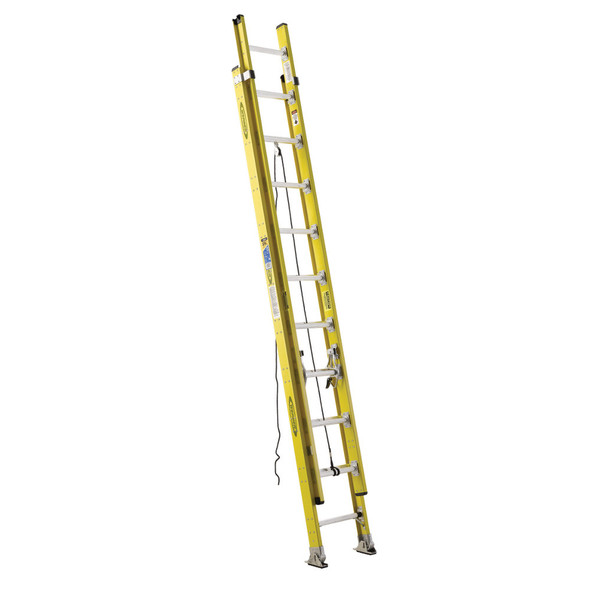 Werner 7100-2 Series Fiberglass Round-Rung Extension Ladder | Type IA