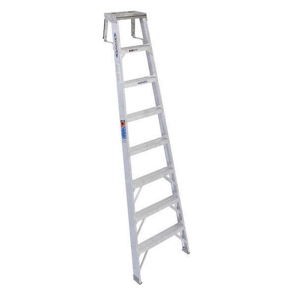 Werner SH378 Aluminum 8ft Shelf Ladder