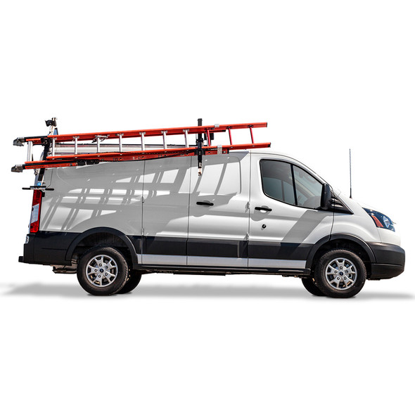 Adrian Steel #DDLR61FTL Passenger Side Drop Down Ladder Rack, Transit Low Roof