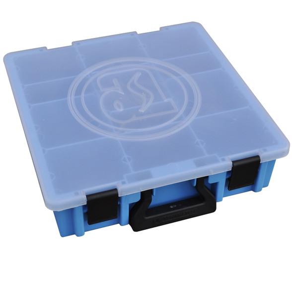 Adrian Steel Company CHPPC5SM 5-Case Holder w/ Cases, Gray, Blue
