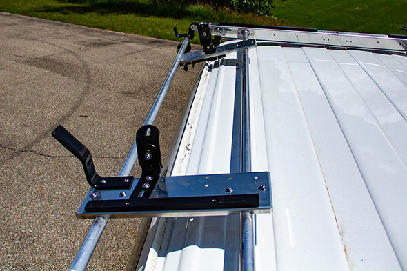 Adrian Steel #61-GLGM2 Passenger Side Grip Lock Ladder Rack, Express, Savana