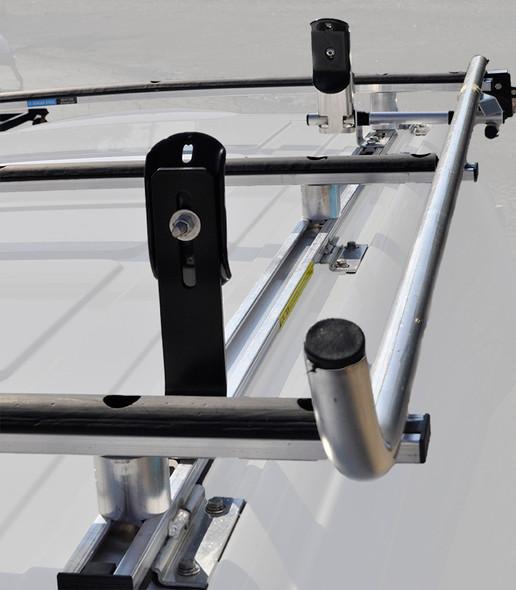 """Adrian Steel #61-MM Single Grip Lock Ladder Rack, Metris, 126"""""""