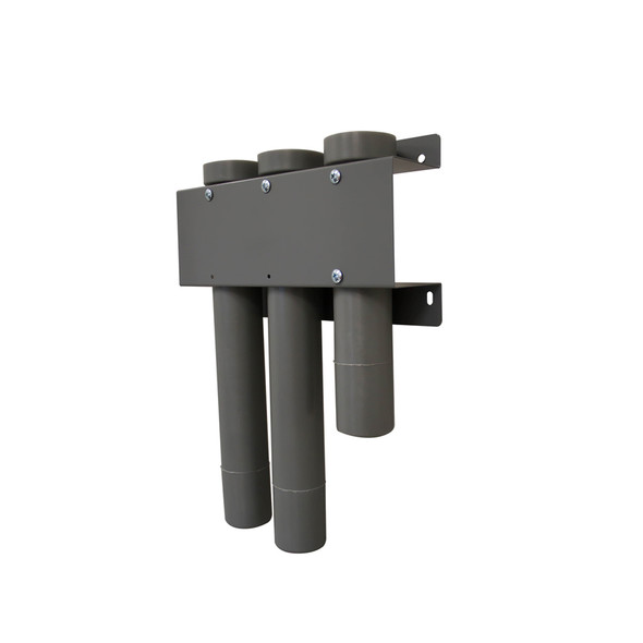 "Adrian Steel #DBH112218 Drill Bit Holders , (1) 18"", (2) 12"" , Gray"