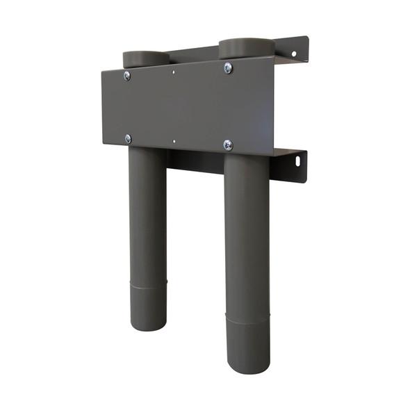 """Adrian Steel #DBH218 Drill Bit Holder, (2) 18"""", Gray"""
