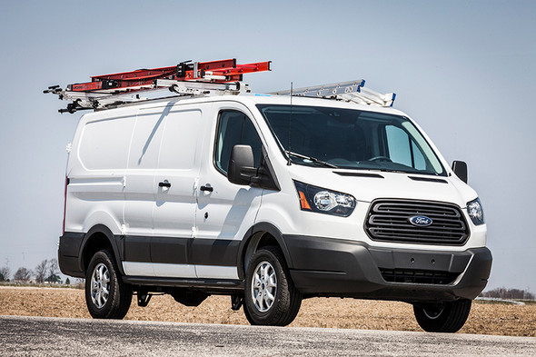 Adrian Steel #DDLR64FTL2 Drop Down & Grip Lock Combo Ladder Rack, Transit Low Roof