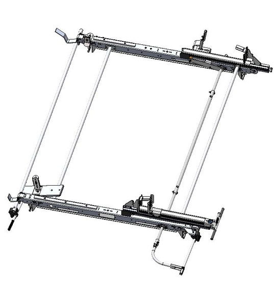 Adrian Steel #DDLR64GM2 Drop Down, Grip Lock Combo Ladder Rack, Express, Savana