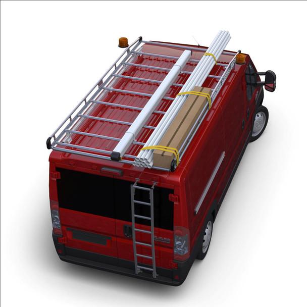 "Prime Design AR1407 Prime Design AluRack / ProMaster 118"" WB Standard Roof"