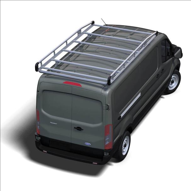 "Prime Design AR1913 Prime Design AluRack / Ford Transit 148"" WB Extended High Roof"