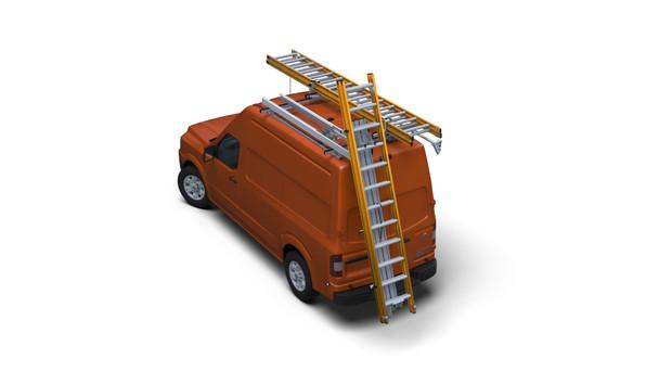 Prime Design DPS-800X DeployPro™ Rear Drop-Down Ladder Rack