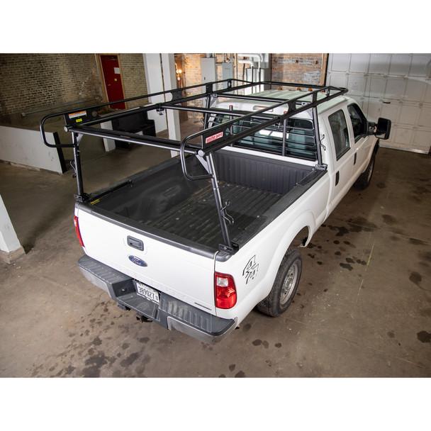 WeatherGuard Model 1175-52-02 Steel Truck Rack, Full Size Pickup, 1700 lb. Capacity