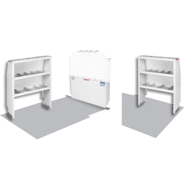 WeatherGuard Model 600-8320 Commercial Shelving Van Package, Chevy City Express, Nissan NV200