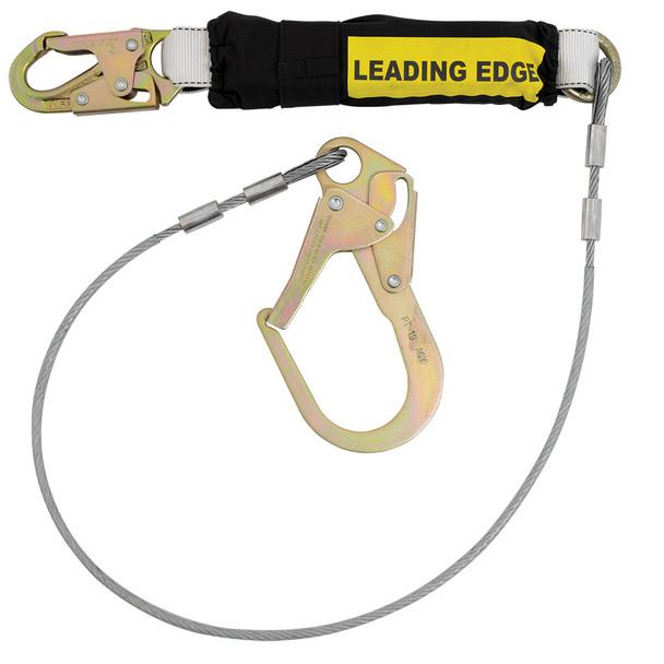 Werner C361220LE Single Leg - Cable LEADING EDGE Lanyard - ReBar Hook