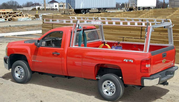 System One - Contractor Rig® Pickup Truck Rack | All Full Size Pick-Ups with 8' beds and std. cabs | All Full Size Pick-Ups with short beds and ext. cabs
