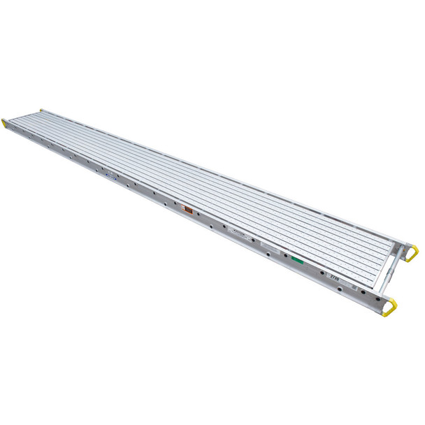 "Werner 2708 Aluminum Stages - 8 Ft Long | 28"" Wide 2-Person 500 lb Capacity"