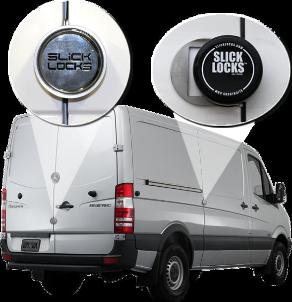 Slick Lock Model No. SP-FVK-DBL-SLIDE-TK | Mercedes Sprinter Complete Turn Key Kit (Double Slide)
