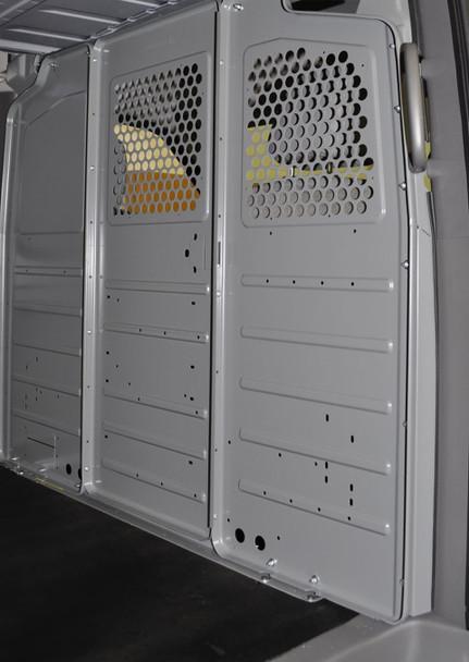 Adrian Steel #WKX1FSVGM Steel Partition Mounting Kit w/ Visibility, Gray, Express, Savana