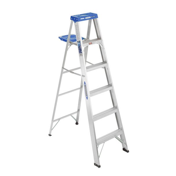 Werner 360 Series Aluminum Stepladders 250 lb Rated