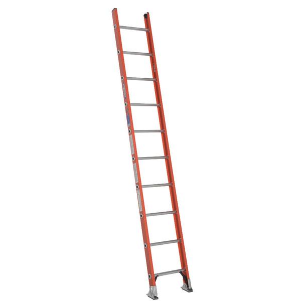 Werner D6200-1 Series Fiberglass Single Ladder 300 lb Rated