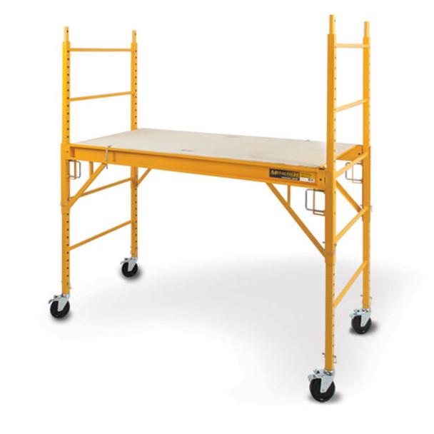 "PROMO | MetalTech #I-CISC 6' High ""Baker Style"" Scaffold 1000 lb Load Capacity"