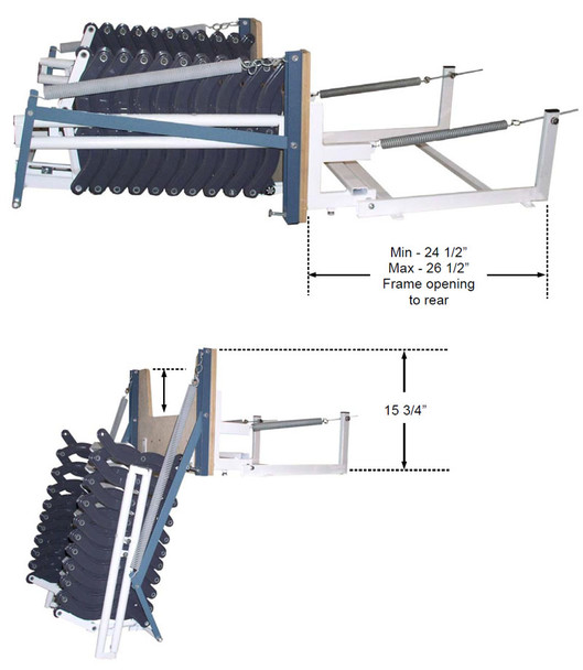 Rainbow WallAccess Steel Ladders