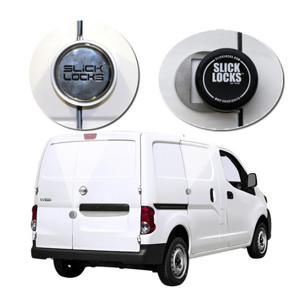 Slick Lock Model No. NV200-FVK-SLIDE-TK   Nissan NV200 Complete Turn Key Kit - 2013-Present