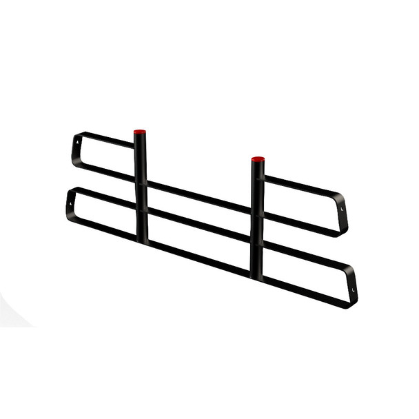 Weather Guard Model 1058-52-01 Truck Rack Cab Protector, Steel, Compact